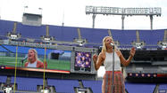 Finalists vie for job as Ravens anthem singer