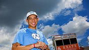 <b>Video:</b> Brandon Reddick receives track scholarship to UNC