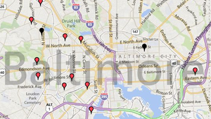 Baltimore homicides map [Interactive]