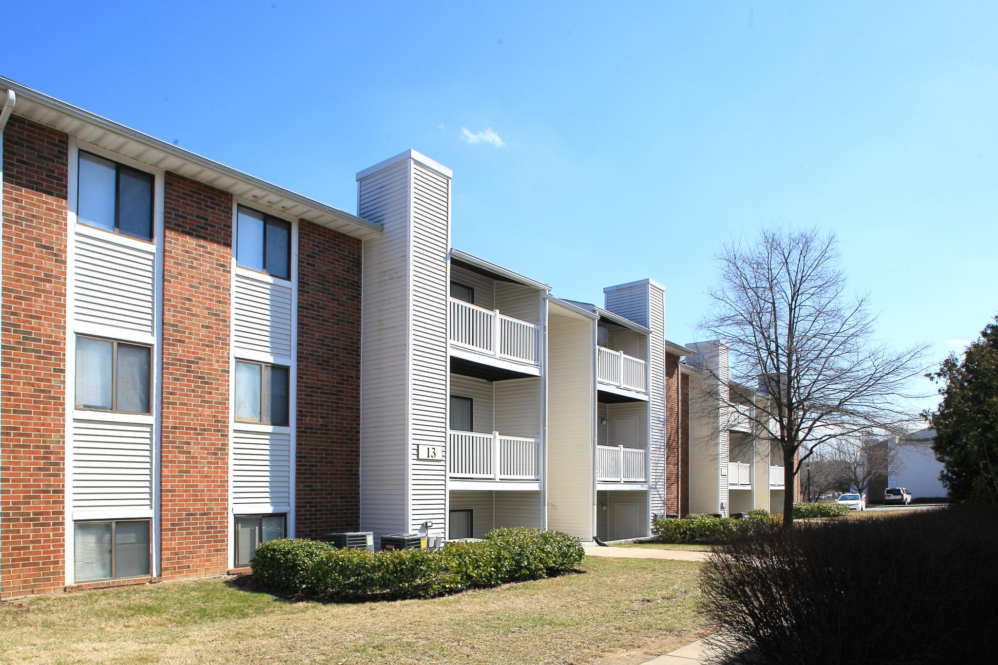 Continental Realty Corp. said Wednesday it had bought two apartment communities in White Marsh, including Lincoln Woods, originally built in 1986.