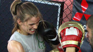 Jessamyn Duke stopped by Leslie Smith in first round
