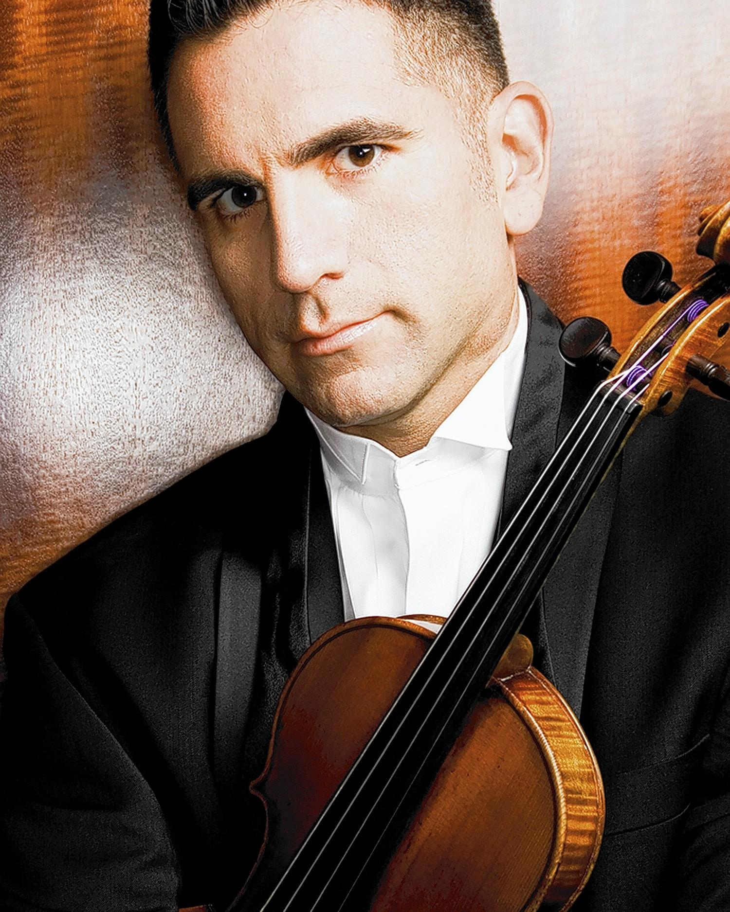 Timothy Schwarz, organizer of the Techne Music Festival, presents a faculty concert at 7 p.m. Friday featuring Schwarz and Domenic Salerni, violins, violist Esme Allen-Creighton and cellist Lawrence Stomberg.