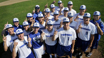 COVER STORY: Kings Of The Hill, Terriers' First Baseball Title Thrills Team And The Town