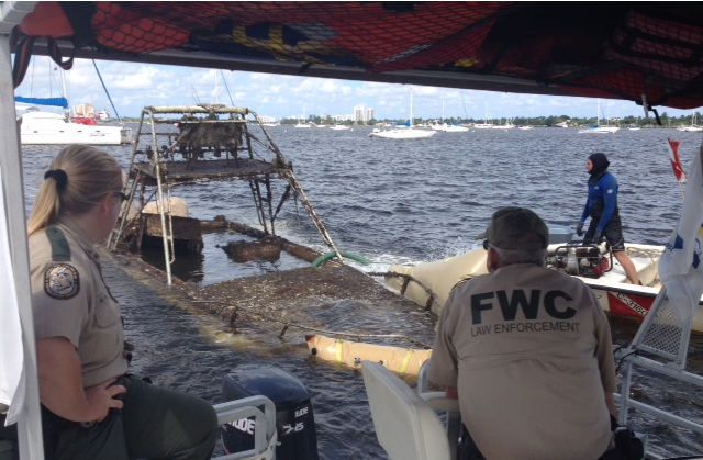 Abandoned boats in area waterways targeted for removal