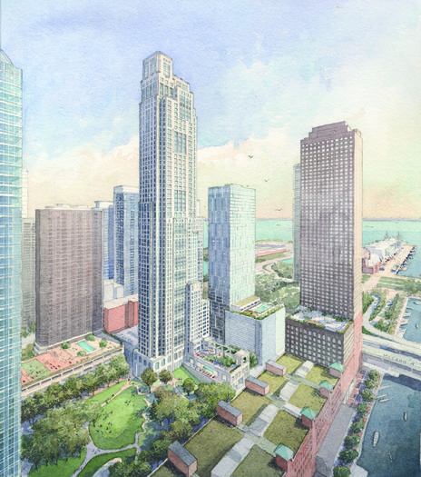 Proposed Streeterville building