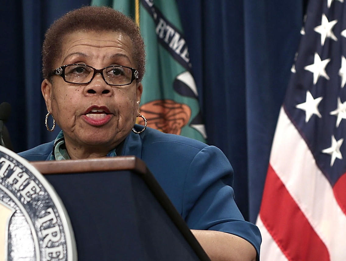 President Obama is set to nominate Carolyn W. Colvin, acting Social Security commissioner, to the permanent post.