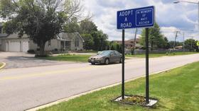 Tinley couple adopts road in memory of son