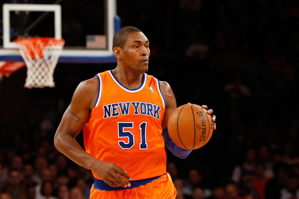 Metta World Peace is from New York but apparently has strong feelings about Baltimore.