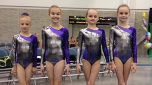 New Kent Gymnastics Team ends 4th season with state titles
