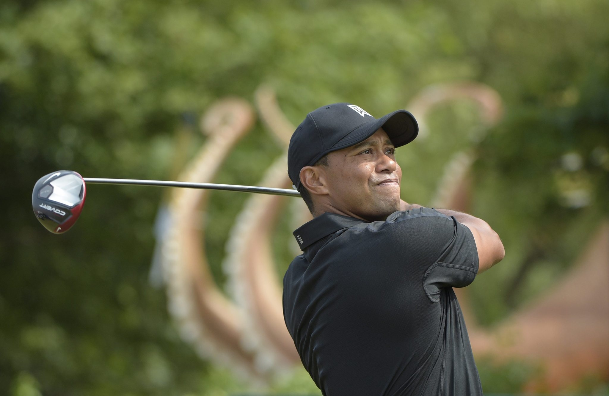 tiger woods falters at british open