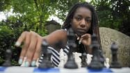 Darrian Robinson, competitive chess player