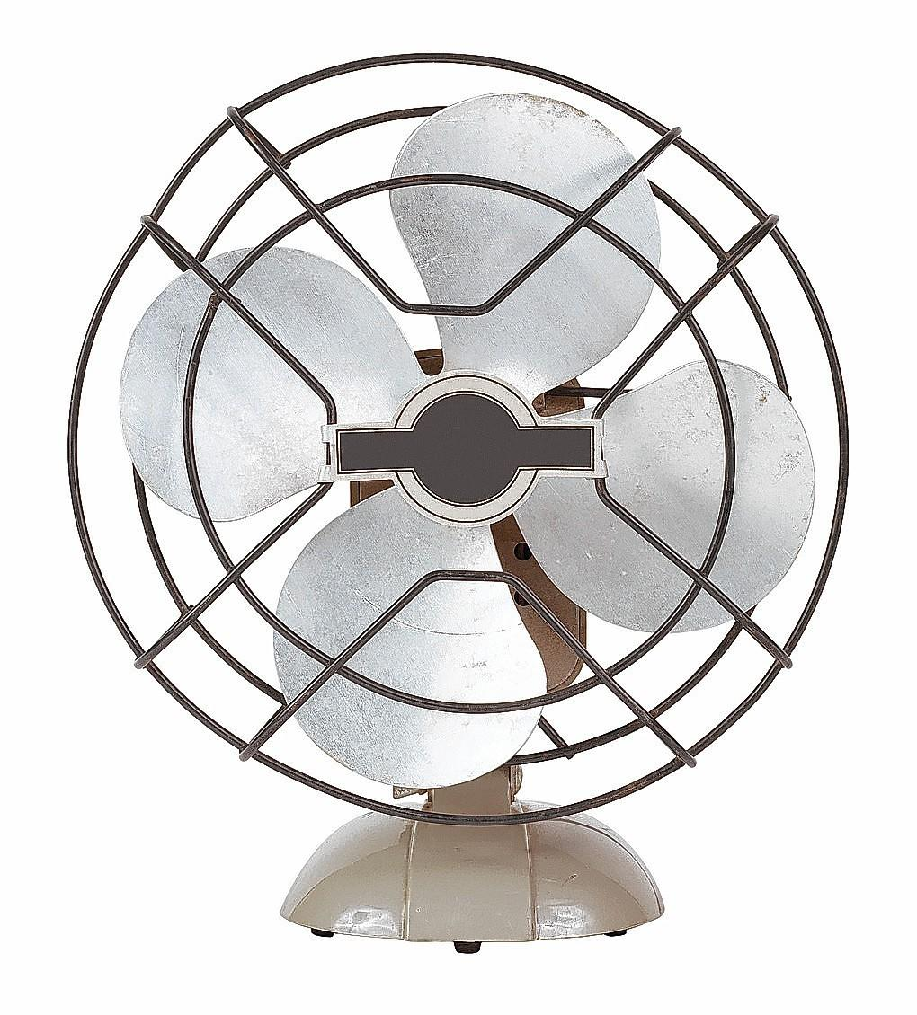 Fans can help push cooler air around your home.