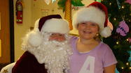 St. Pius X Summer Campers Receive a Surprise Visit from Santa Claus