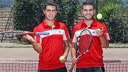 Glendale High's terrific tennis tandem made a late charge