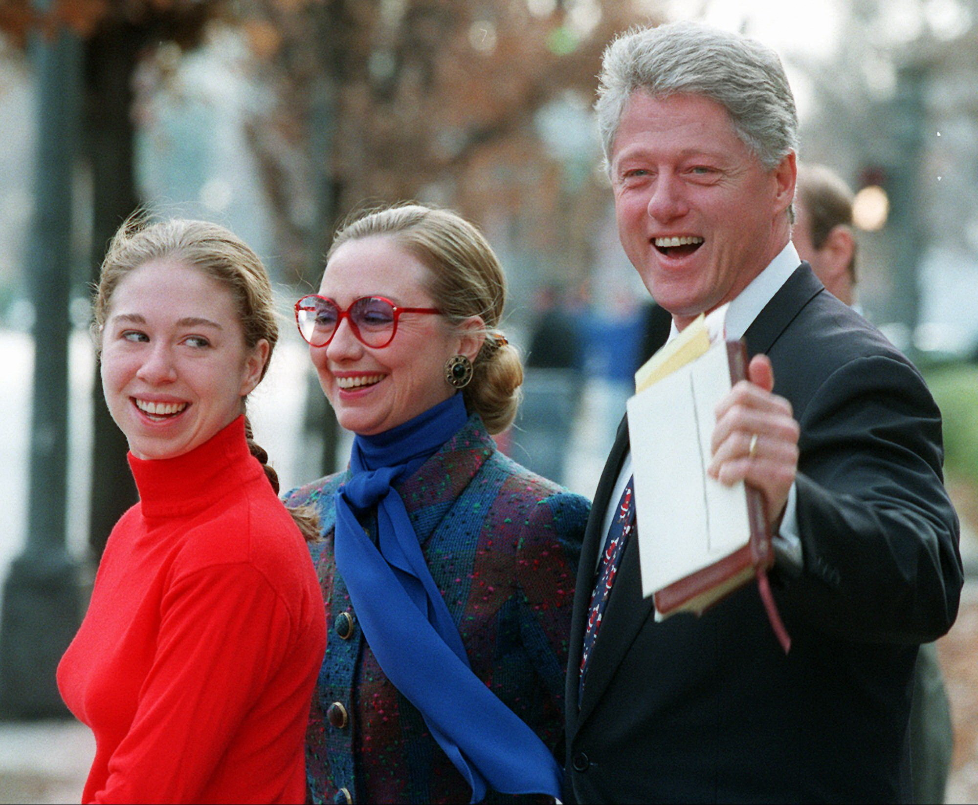 The Clintons Through The Years