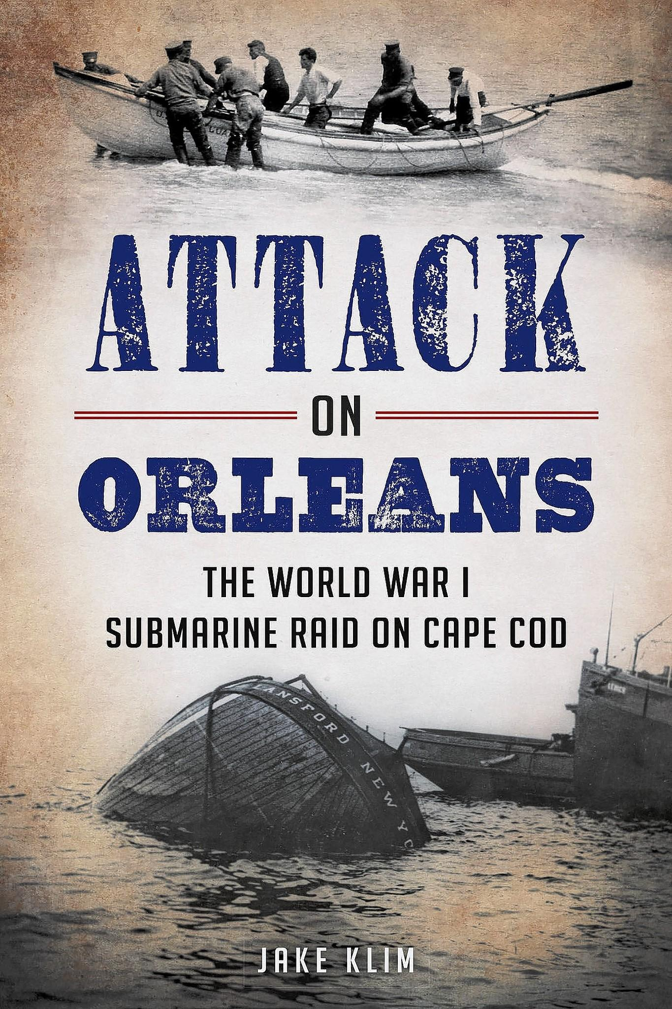 Jake Klim's new book 'Attack on Orleans.'
