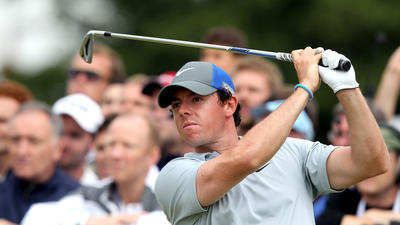 Rory McIlroy closing in on wire-to-wire win in British Open after 68