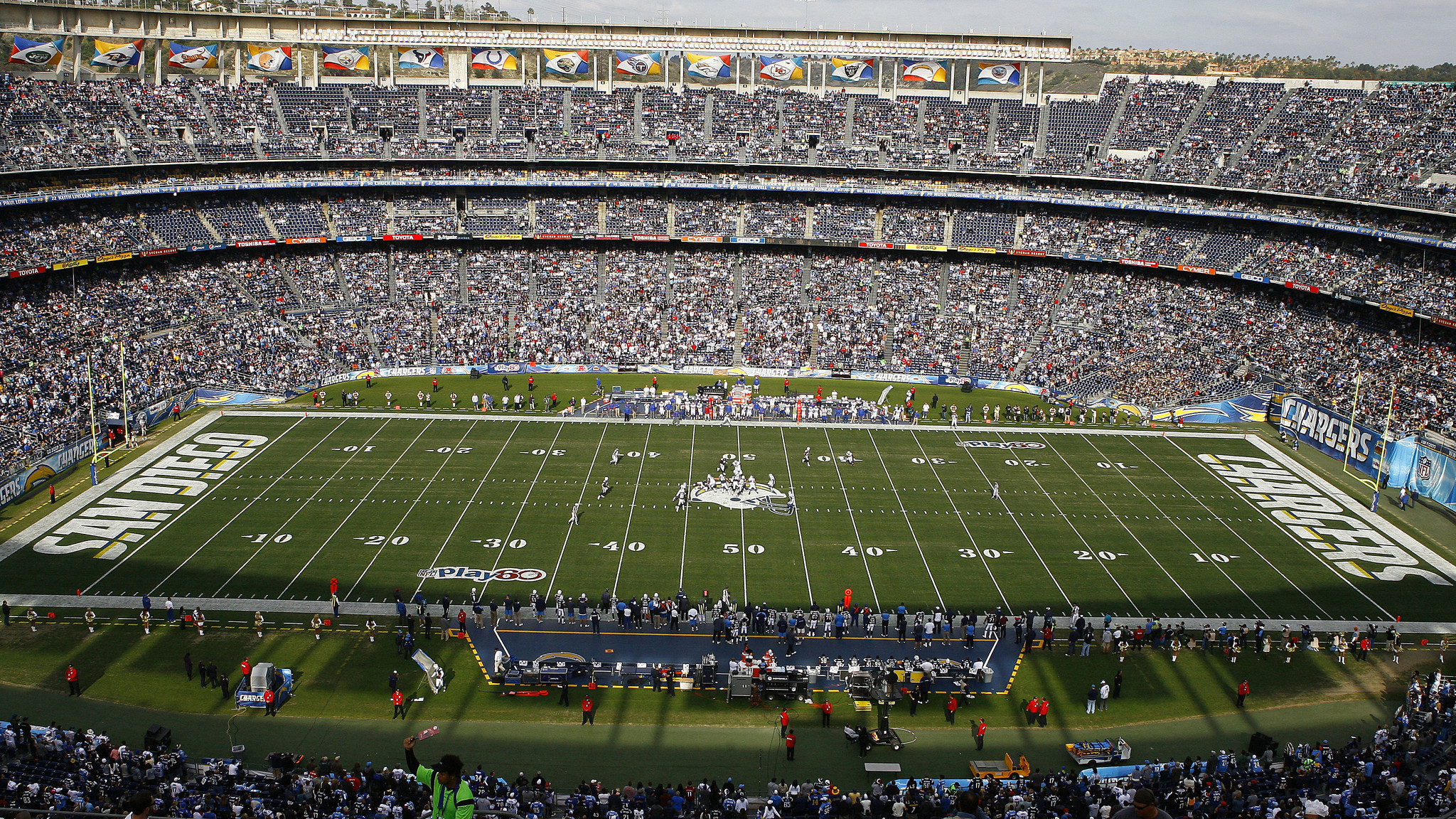 Image of Qualcomm Stadium.
