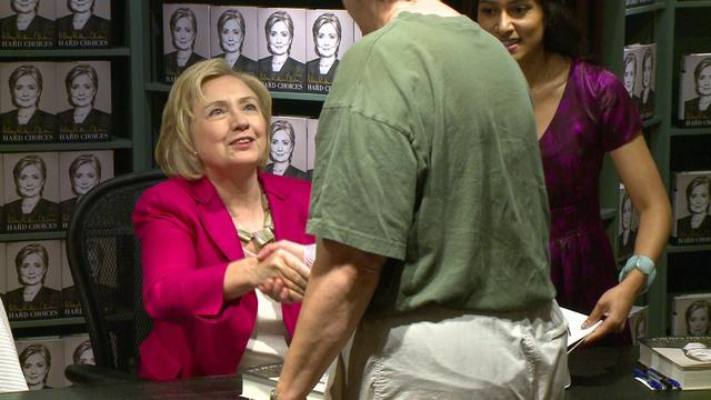 Hillary Clinton Draws Crowd For Madison Book Signing
