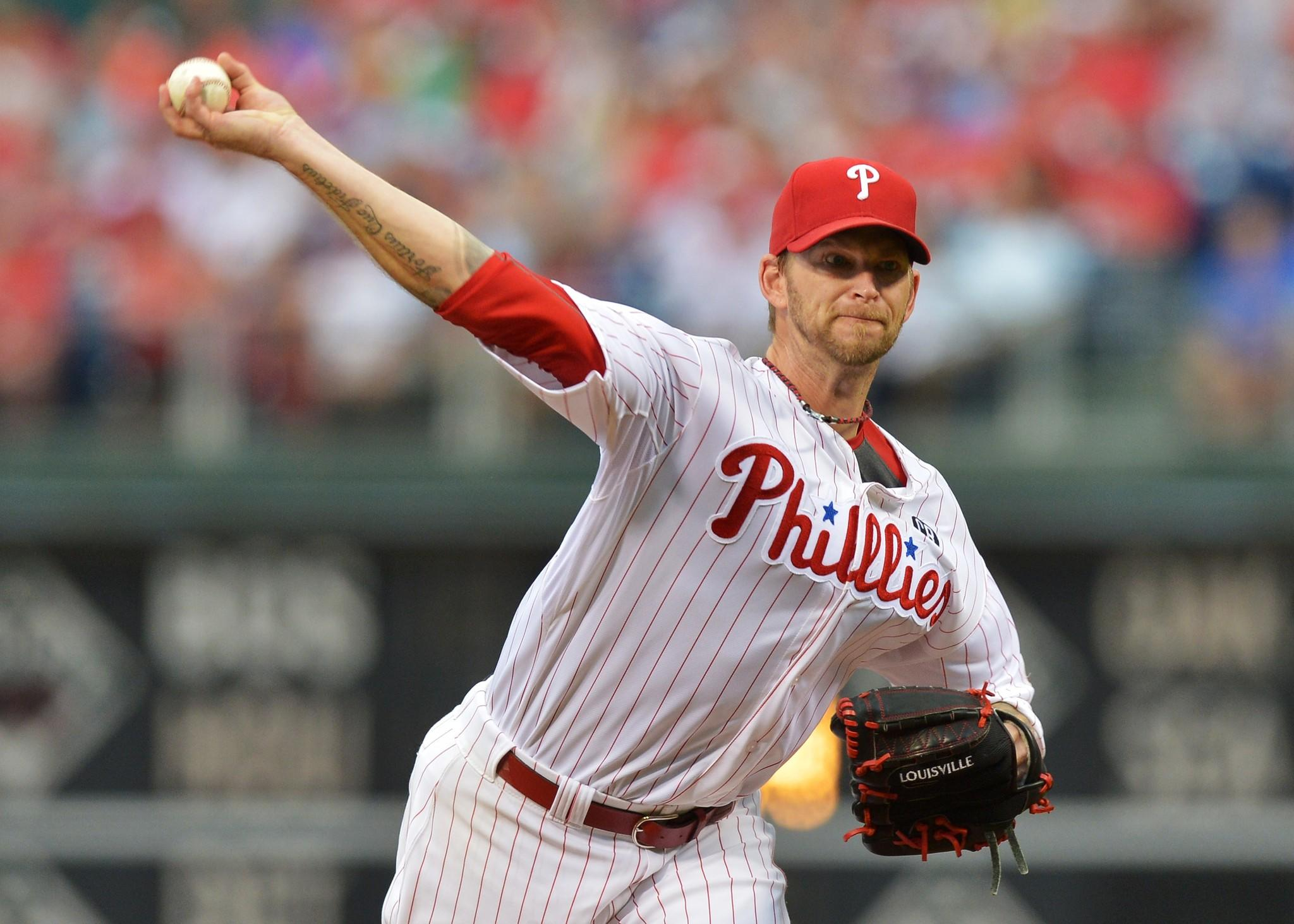 Philadelphia's A.J. Burnett lives in Monkton, but he re-signed with the Phillies earlier this year despite interest form the Orioles.