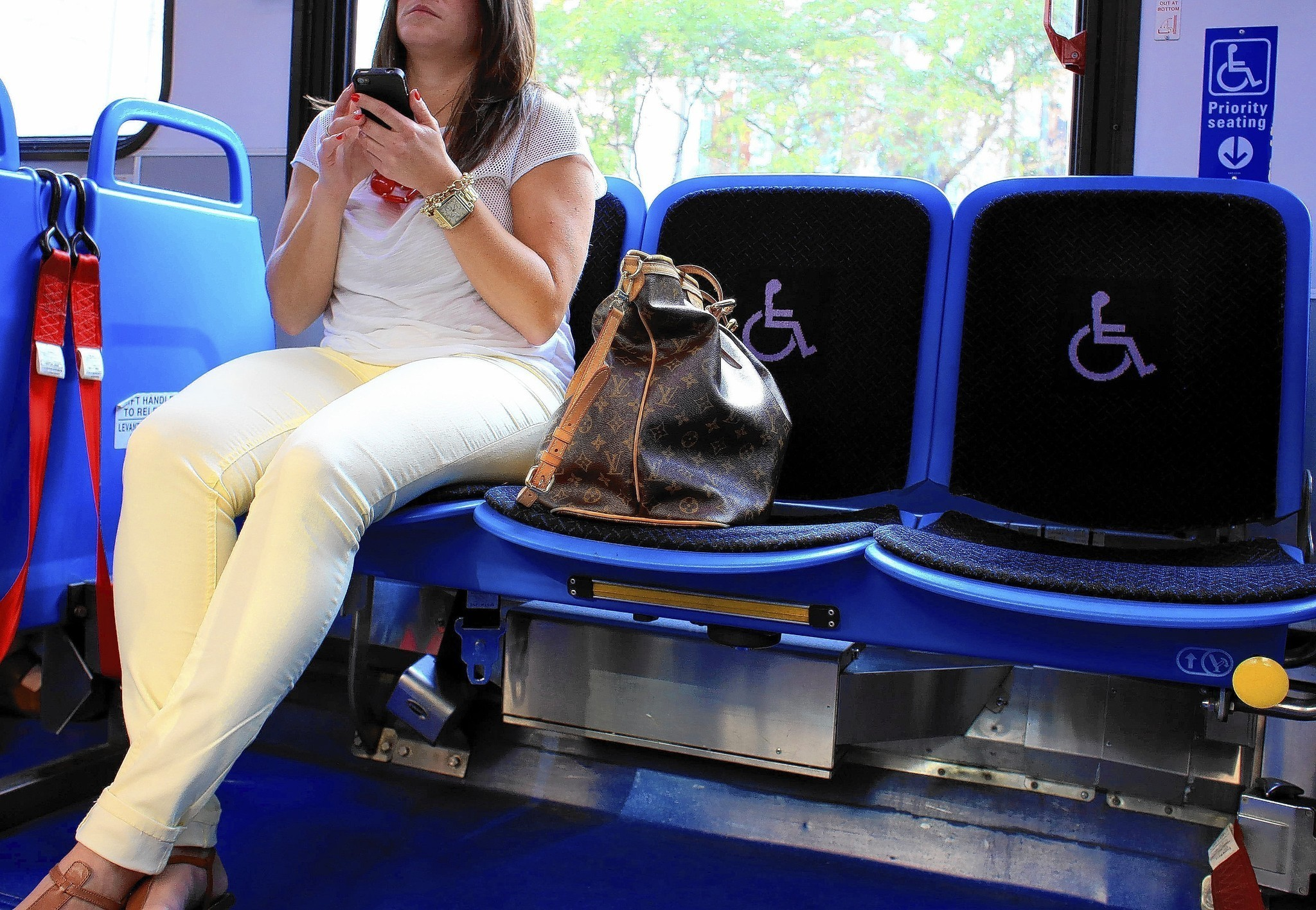 cta priority seating and the ada