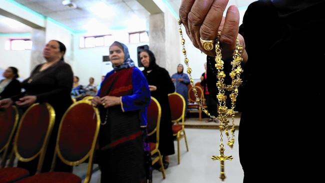 Christians in Qaraqosh, Iraq