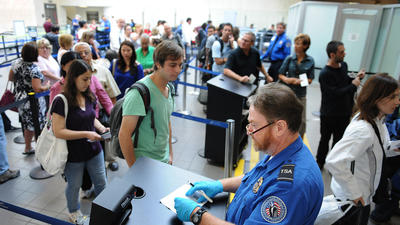 TSA security fee for airline travel rises today