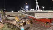 Time-Lapse Video Of I-84 Bridge Replacement In Sout