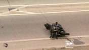 Video: Off-duty officer killed in motorcycle crash on Dan Ryan
