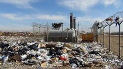 Afghan incinerator