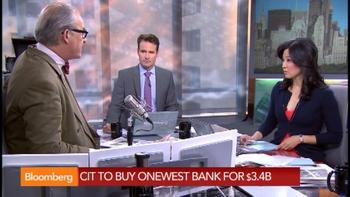 CIT Buying Onewest Bank in $3.4B Cash, Stock Deal