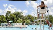 Students spend summer break by the pool in Arbutus