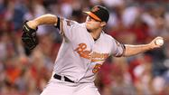 Orioles closer Zach Britton fights off numbness after comebacker to close out 4-2 win in Anaheim