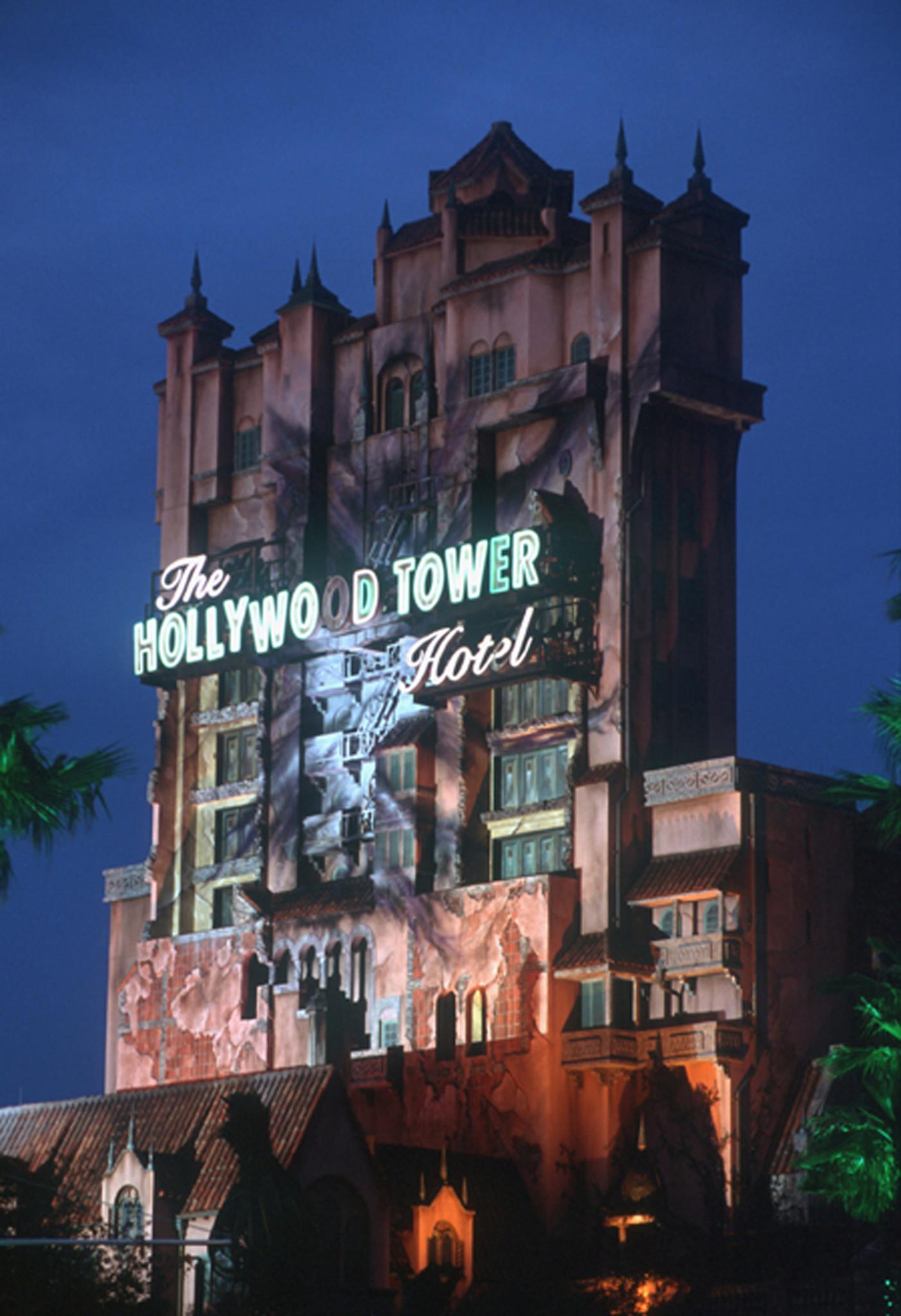 Tower Of Terror Disney World Inside