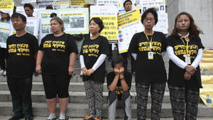 Related: Parents of students lost on South Korea ferry press for investigation