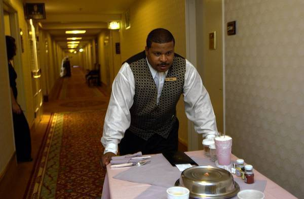 Hotel Guests Ordering More Takeout Less Room Service