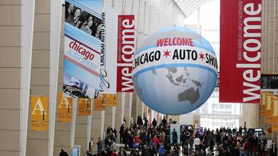 2015 Chicago Auto Show announced