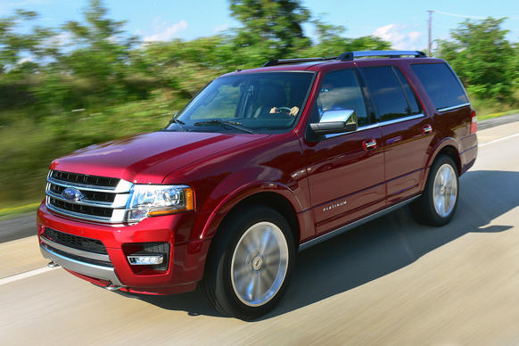 "The 2015 Ford Expedition swaps out the old V-8 in favor of an EcoBoost turbocharged V-6. The updated model also gets styling tweaks inside and out.  <a href=""http://www.chicagotribune.com/classified/automotive/chi-ford-expedition-refreshed-for-2015,0,6846992.story"" target=""_blank""> Read the preview >>></a>"