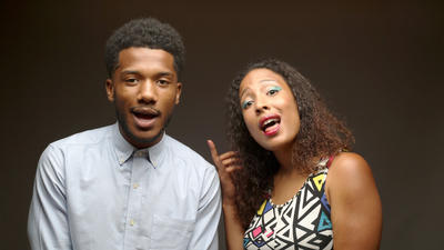 Brother-sister duo April Fools debuts a new hip-hop play, 'Lack on Lack'