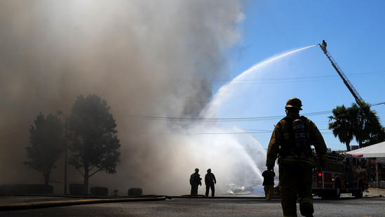 Charter school fire