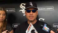 Video: Sox's Ventura on Abreu's day off