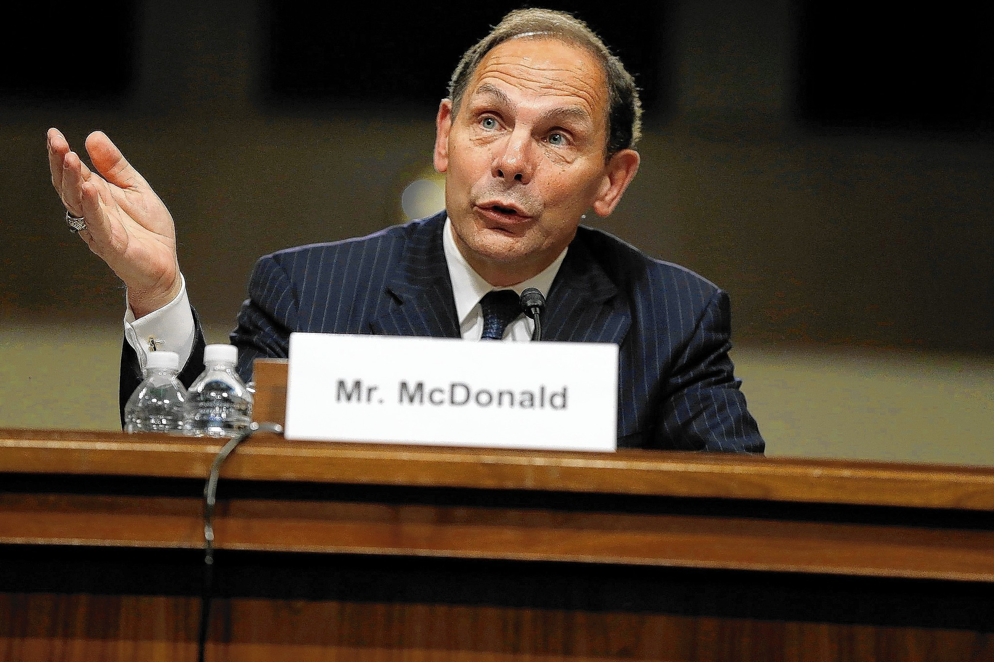 Obama's pick for VA chief vows to fix 'systemic failures'