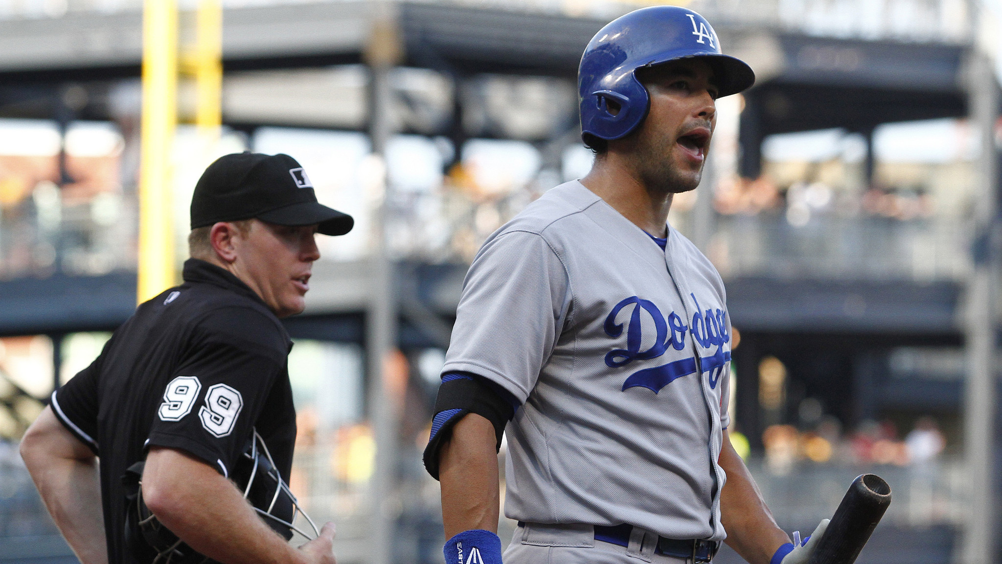 Dodgers can't keep up with Pirates in 12-7 loss