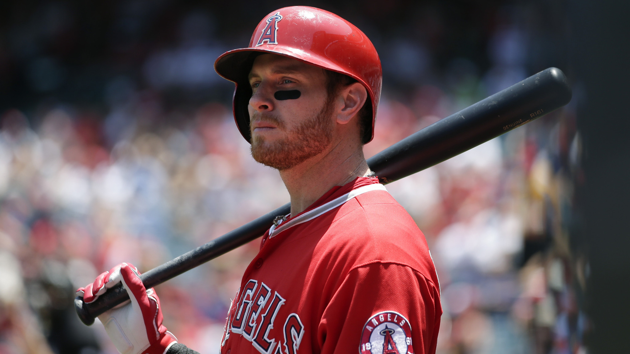 Josh Hamilton losing his clout in cleanup spot, and Angels lose game