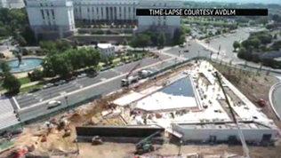 Video: Disabled veterans memorial nearing completion