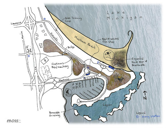 Montrose Beach plan