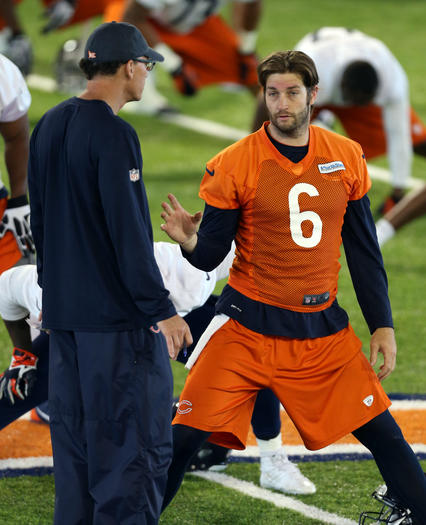 Bears' Marc Trestman and Jay Cutler