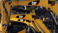 Caterpillar dealer sales slip 10 percent worldwide