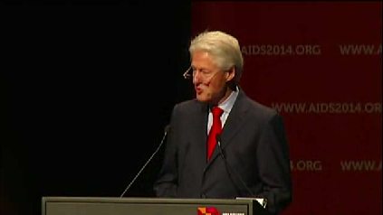 Clinton: 'AIDS-free generation within our reach' [Video]