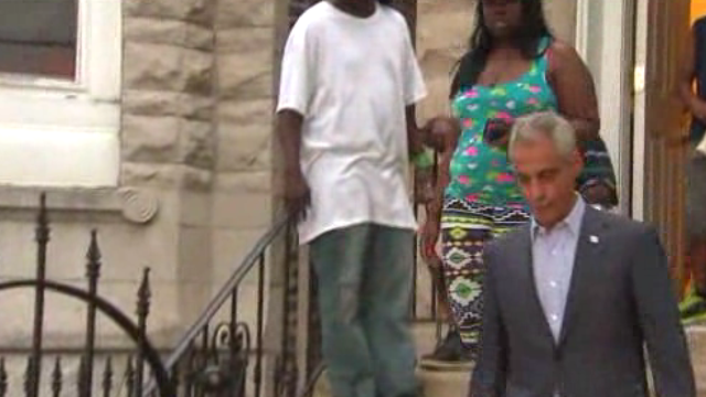 Video: Mayor visits home of young girl killed by stray bullet, investigation continues